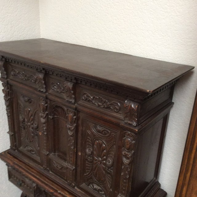 Mediterranean Style Antique Elements Cabinet - Image 11 of 11