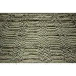 "Image of Wool & Silk Pile Gray Moroccan Rug - 7'4"" x 8'2"""