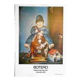 Vintage Poster Lithograph - Fernando Botero