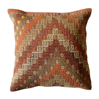 Vintage Turkish Pasargad Throw Pillow