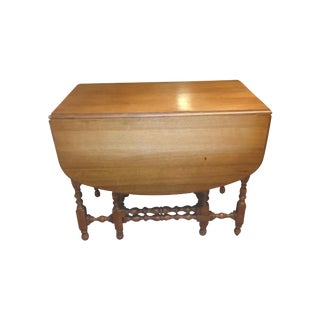 English Jacobean Dropleaf Table