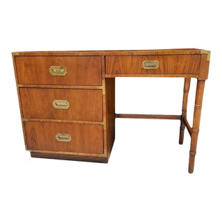 Mid-Century Dixie Campaign Style Desk