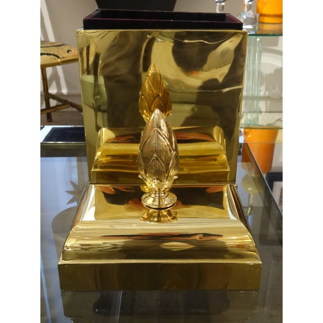 Lidded Brass Box by Maitland Smith - Image 5 of 5