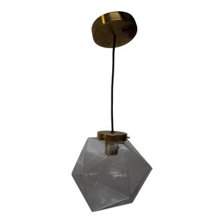 Geometric Glass Hanging Pendant Light