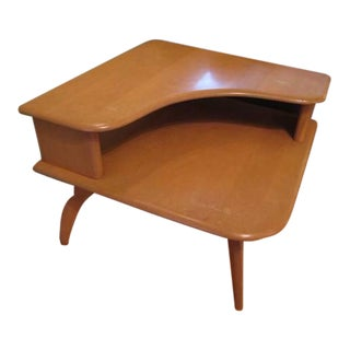 Heywood Wakefield Corner End Table