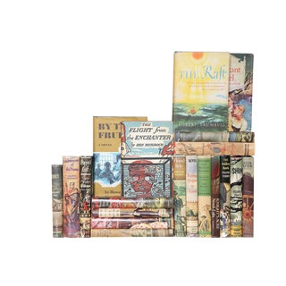 Midcentury Multi-Color Novels, S/20