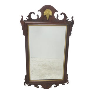 Council Furniture Chippendale Mahogany Mirror