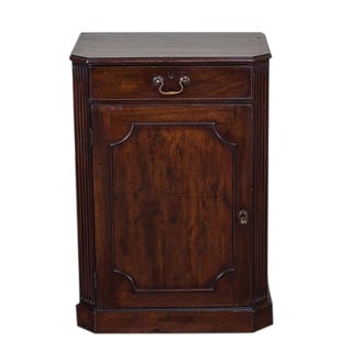 George III Antique English Mahogany Cabinet circa 1780