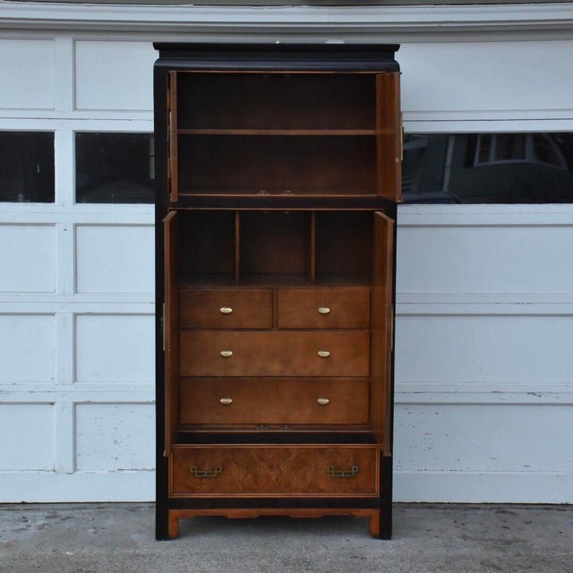 Century Furniture Chin Hua Collection Armoire - Image 3 of 11