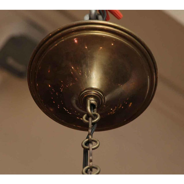 Segusa Mid-Century Modern Blown Glass Chandelier - Image 8 of 10