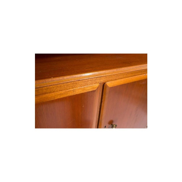 Mid-Century Swedish Bookcase Cabinets - A Pair - Image 7 of 9