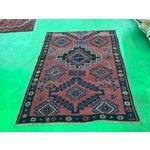 """Image of Vintage Turkish Oushak Rug - 4'3""""x5'9"""""""