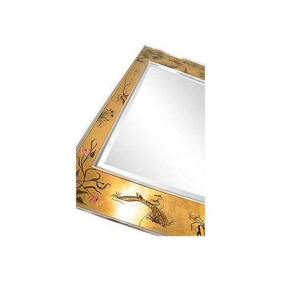 Image of La Barge Chinoiserie Wall Mirror