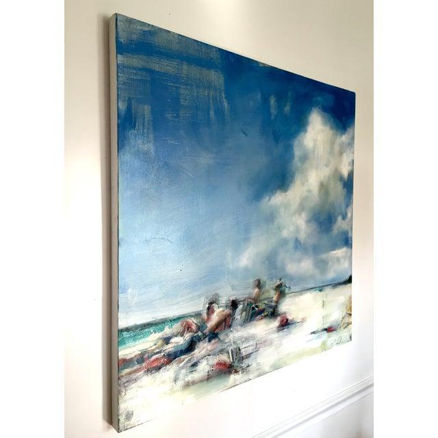 Teil Duncan Original Beach Scene Painting - Image 3 of 5