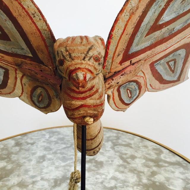 Image of American Folk Art Butterfly, Decorative Object