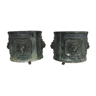 French Garden Urns - A Pair