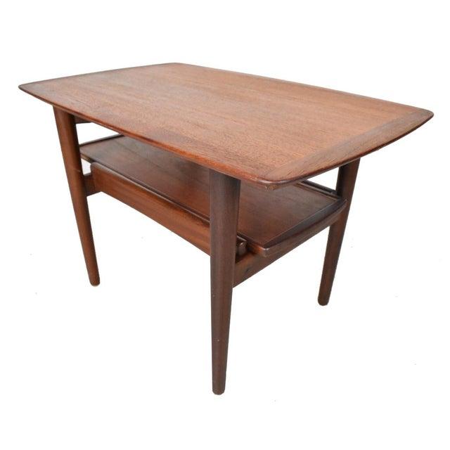 Bramin Møbler Refinished Teak Side/End Table - Image 1 of 5