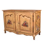 Image of French Provencial Hand Painted Buffet