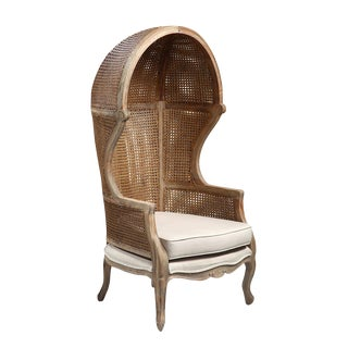 Speakeasy Cane Canopy Chair