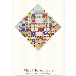 """Piet Mondrian """"Victory Boogie Woogie"""" 1986 Poster"""