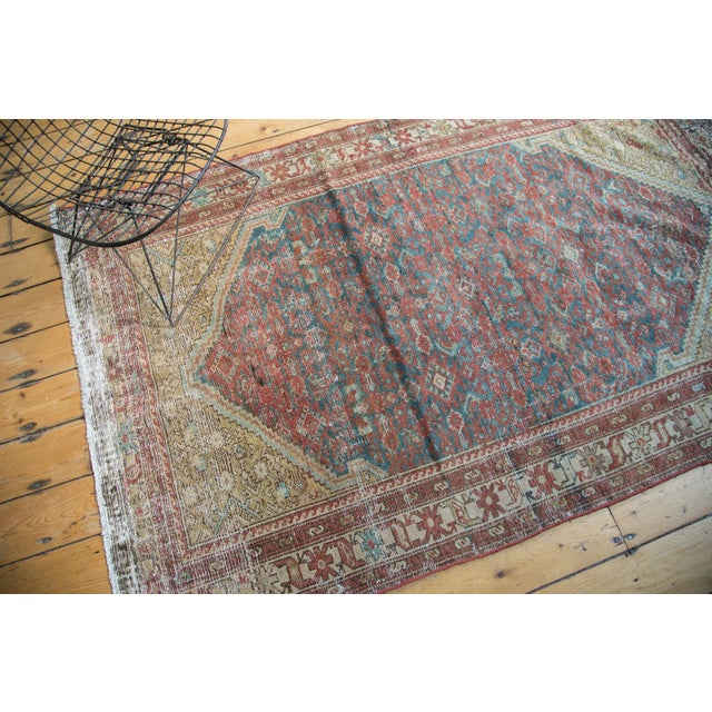 """Antique Malayer Rug - 4'1"""" x 6'7"""" - Image 7 of 10"""