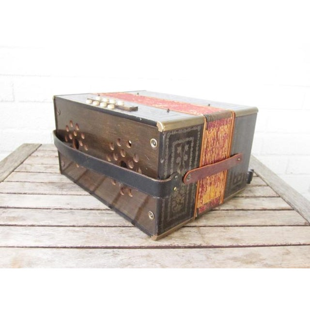 Vintage Beaver Melodeon Accordion - Image 7 of 7