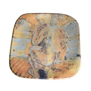 Grès Porcelain Stoneware Plate