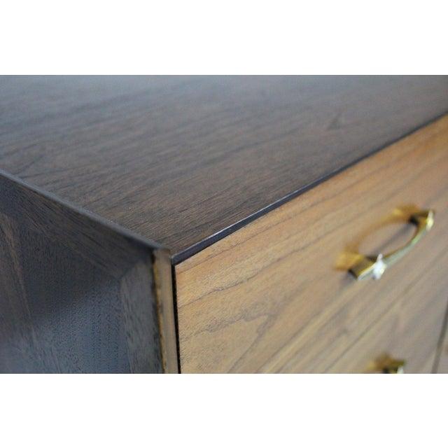 Image of Walnut Kent Coffey 9 Drawer Dresser