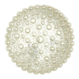Vintage Circles Bubble Glass Flush Mount by Helena Tynell