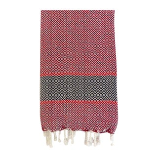 Turkish Red Towel/Throw