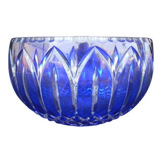 Cobalt Crystal Bowl