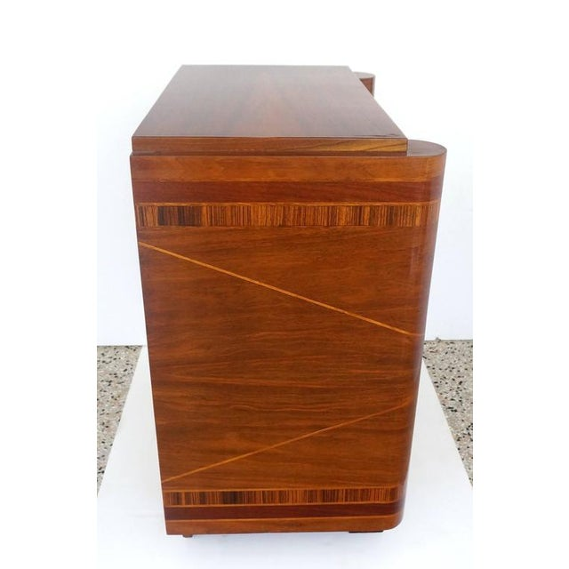 French Art Deco Two-Door Cabinet - Image 7 of 10