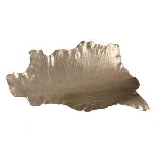 French Metallic Cowhide