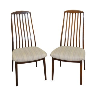 Danish Modern Pair of Rosewood Side Chairs by SVA Mobler
