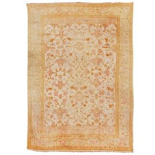 Oversized Oushak Carpet