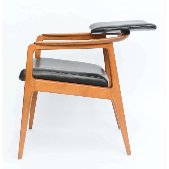 Sigvard Bernadotte Teak Lounge Armchair for France & Daverkosen - Image 4 of 9