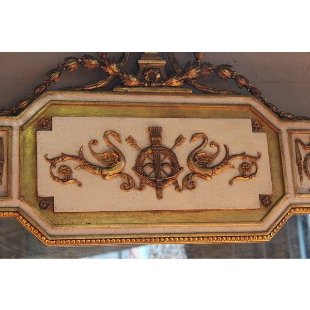 Neoclassical Gilt-Wood Mirror - Image 4 of 5