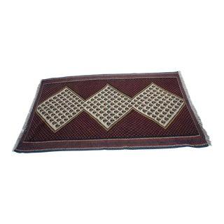 Vintage Kilim Rug- 3′4″ × 5′8″