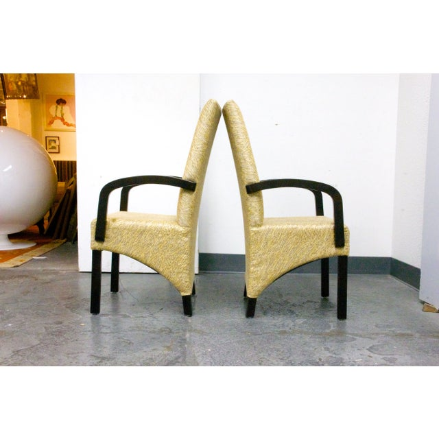 Custom Designed Chairs - A Pair - Image 4 of 5