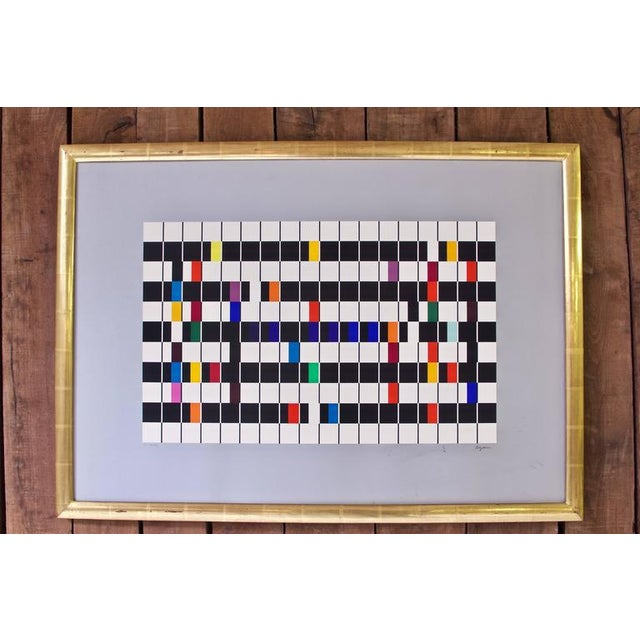 'One and Another' Artist's Proof Signed Color Serigraph by Yaacov Agam, 1980s - Image 2 of 3