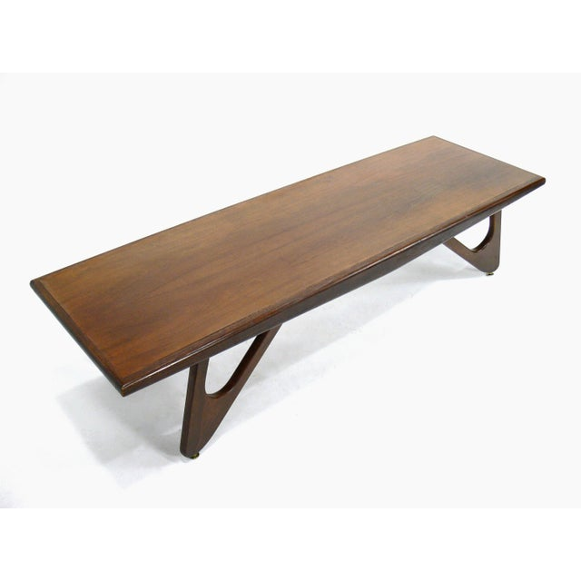 Mid Century Modern Surfboard Coffee Table: Mersman Mid-Century Modern Adrian Pearsall Attributed