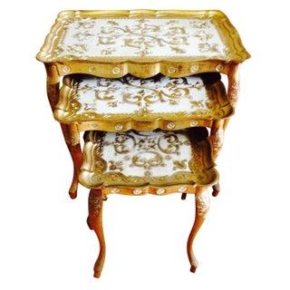 Vintage Italian Nesting Tables - Set of 3