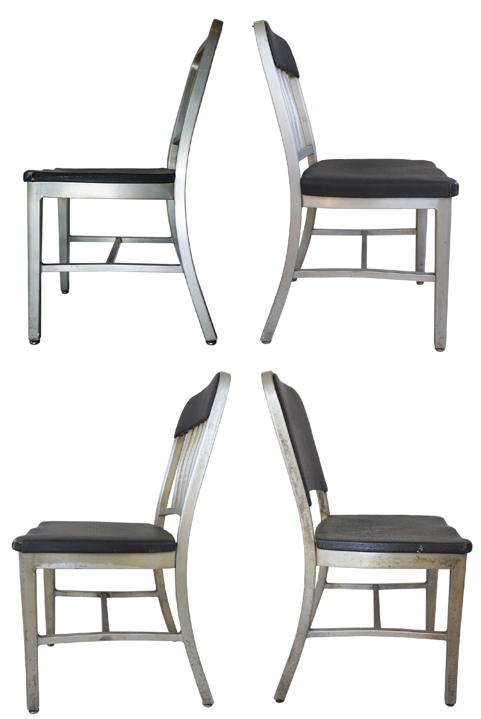 Emeco Aluminum Navy Chairs, Assorted   Set Of 4   Image 3 Of 5