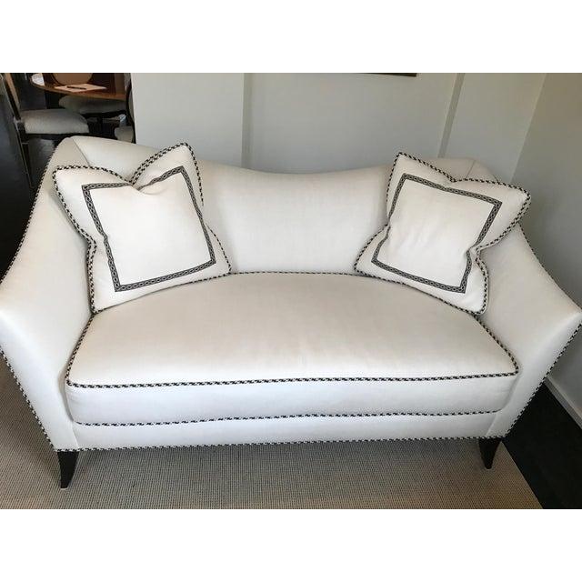 Custom Upholstered Love Seat Chairish