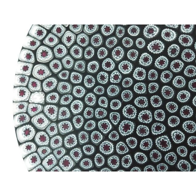 Millefiori Murrine Plate by Ercole Moretti Italy - Image 7 of 7