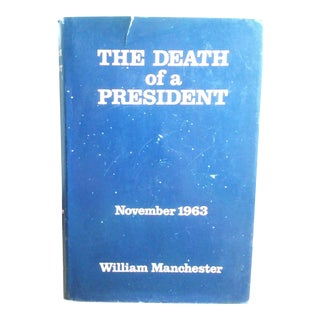 """The Death of a President"" 1963 1st Edition Book"