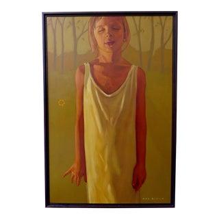 "Nick Kosciuk ""Girl"" Oil Painting"