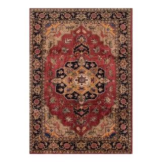 """Apadana - Vintage Persian Tabriz Rug, 6'8"""" x 9'6"""""""