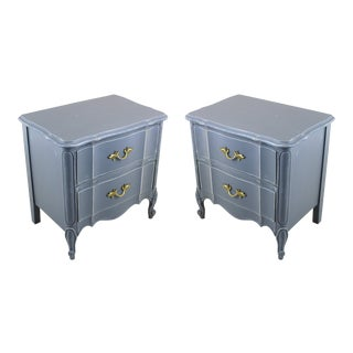 Vintage Provinical Style Nighstands - a Pair