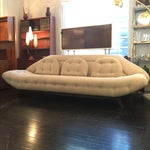 Image of Adrian Pearsall Tufted Gondola Sofa